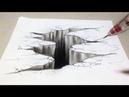 Comment dessiner un Trompe-l'œil 3D Fissure [Tutoriel]