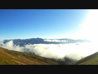 2320 метров над уровнем моря, Роза Пик, Красная поляна.