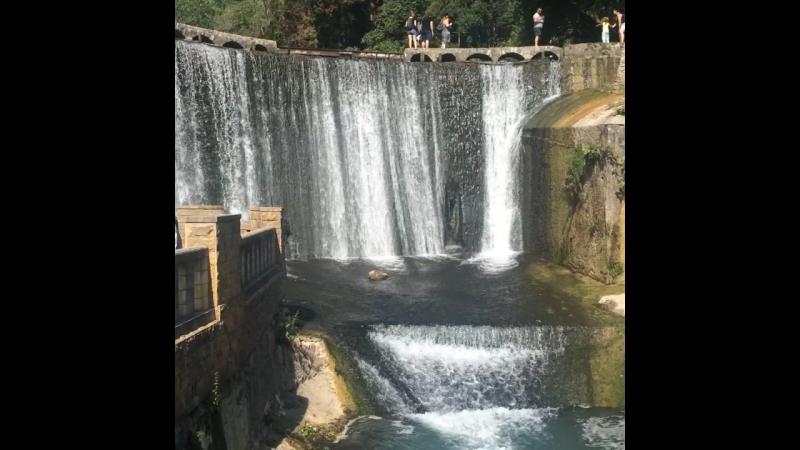 Абхазия 2018 Новый Афон Плотина