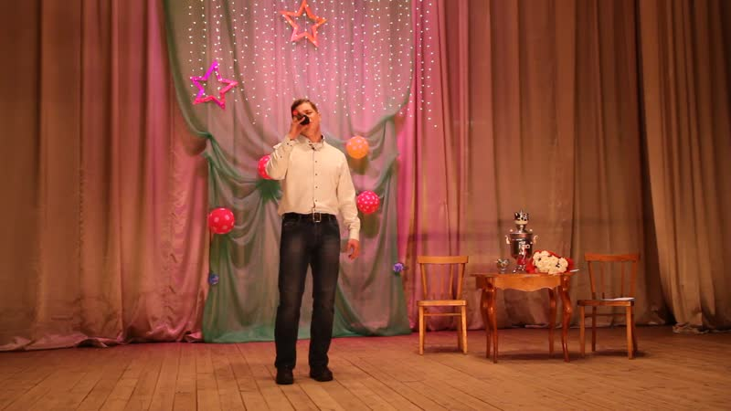 Константин Давыдов Яхта, парус в концерте Всё начинается с любви