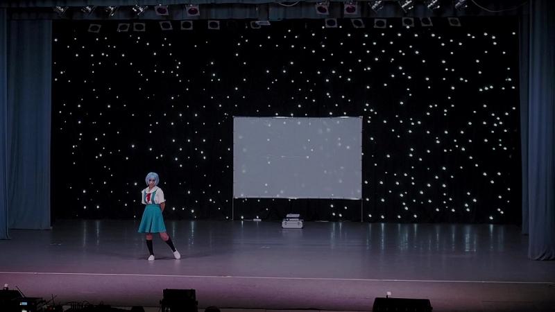 Косплей-дефиле (соло)_Лувия – Rei Ayanami (Neon Genesis Evangelion)