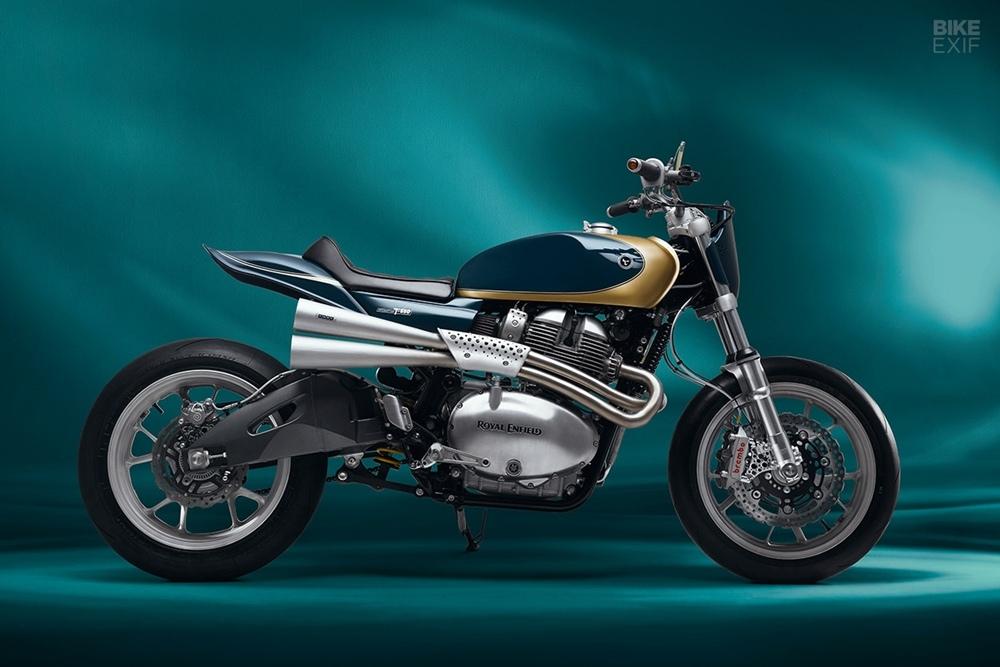 Thrive Motorcycles: кастом Royal Enfield 650 TXX Interceptor