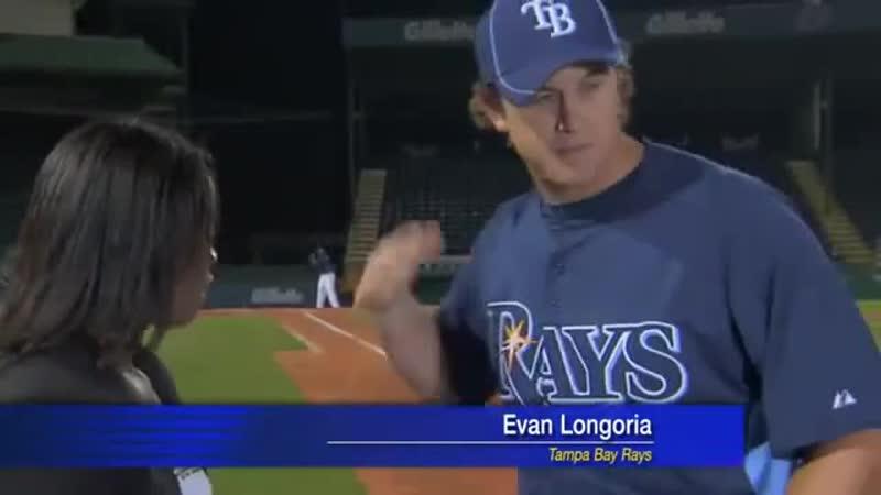 Evan Longorias Crazy Bare Hand Catch