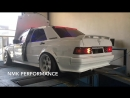 Mercedes W201 M104 Turbo Running a Link ECU