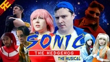 SONIC THE HEDGEHOG THE MUSICAL MOVIE TRAILER by Random Encounters (w Adrisaurus &amp FamilyJules)
