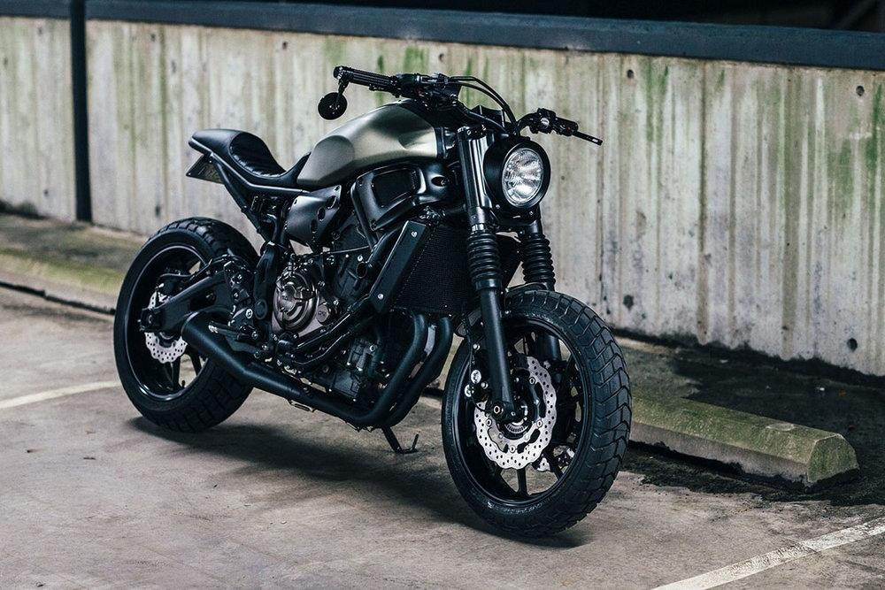 Gasoline Motor Co.: два кастома Yamaha XSR700
