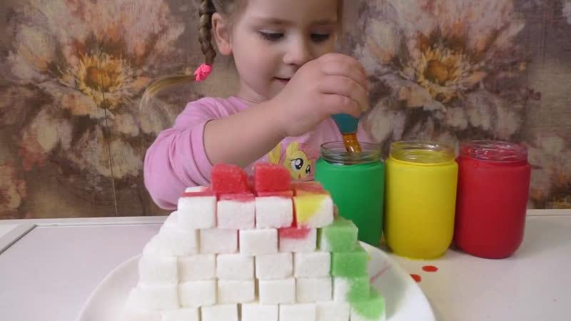 Опыт Сахарная башня 🤩