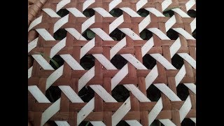 №23 Плетем полотно из ленты лозы . (Wickeworc - Плетение из лозы )