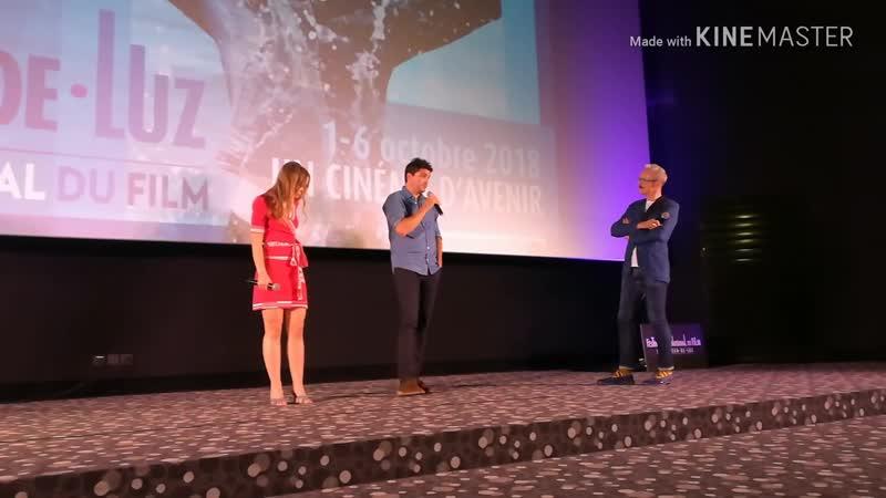 Лили-Роуз Депп и Венсан Мариетт на кинофестивале в Сен-Жан-де-Люз: премьера