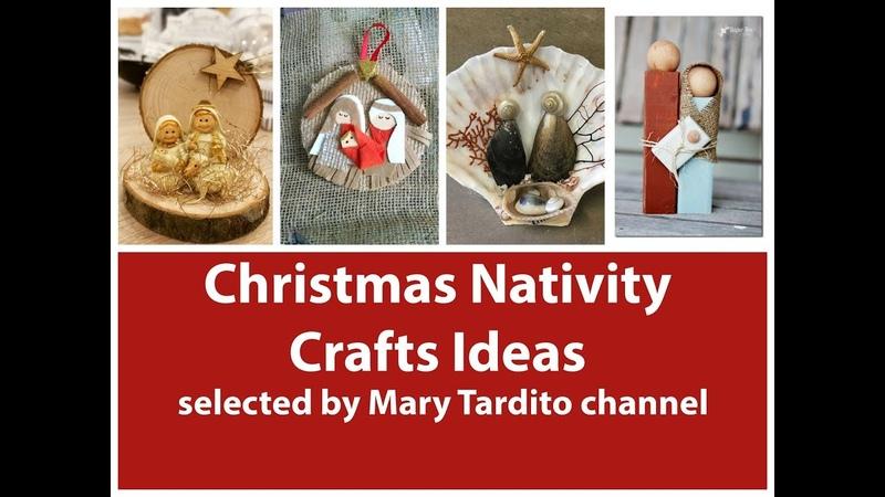 Christmas Nativity Crafts Ideas – Christmas Decor Ideas - Religious Decor Ideas