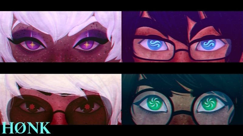 Homestuck || God Tier Eyes [Speedpaint Now Available on WLF!]