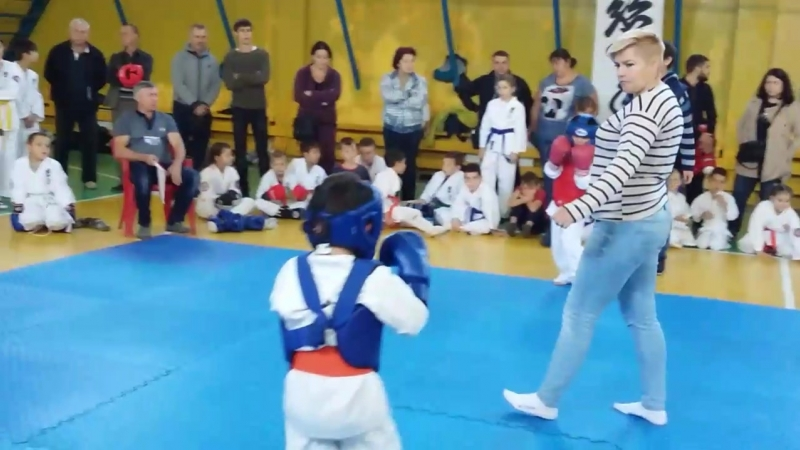 Первый бой сына Болград