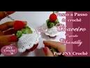 Chaveiro Cupcake de crochê Chantilly por JNY Crochê