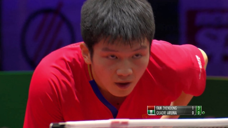 Fan Zhendong vs Aruna Quadri 2019 World Championships Highlights R32