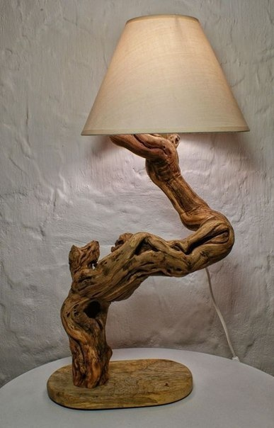 Предметы интерьера из дерева.
