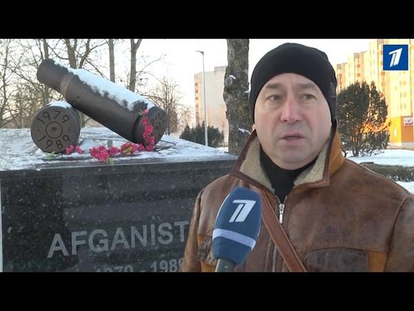 Эстония Завершено строительство монумента воинам афганцам