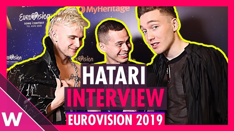 Hatari (Iceland) Interview @ Eurovision 2019 first rehearsal