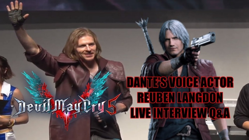 Reuben Langdon Dante From Devil May Cry 5 Joins Us LIVE TO CHAT! FT. Yellow Flash Hero Hei