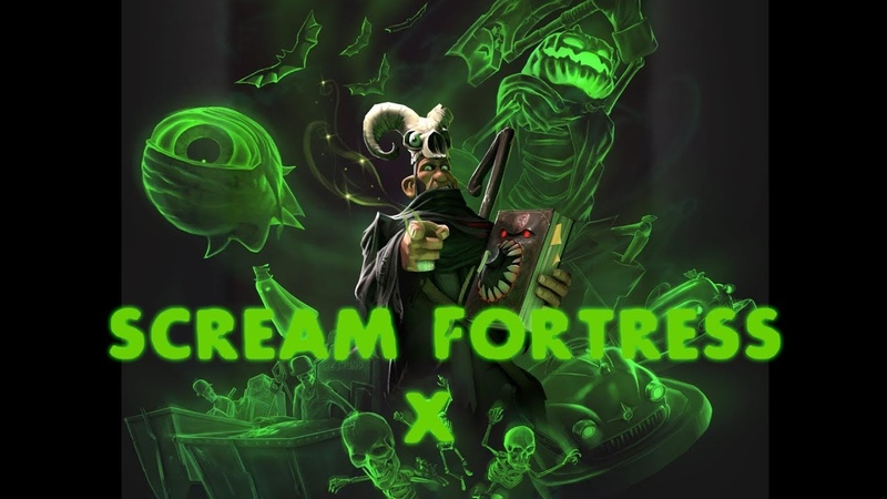 TF2 Scream Fortress X Update 2 New Taunts Showcase смотреть онлайн без регистрации