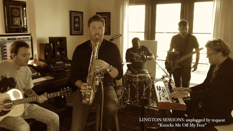 Michael Lington - LINGTON SESSIONS: unplugged by request - Knocks Me Off My Feet (Stevie Wonder Cover)