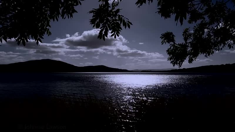 MEDITATION RELAXATION-Tranquil Sounds of Nature at Night-Calming Lapping Water-Soothing Wind.(videoo.info)