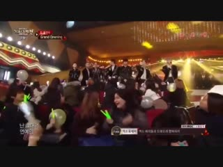 Since we all miss bts let's not forget that time when one of the member of the other group were making an effort to sing good bu