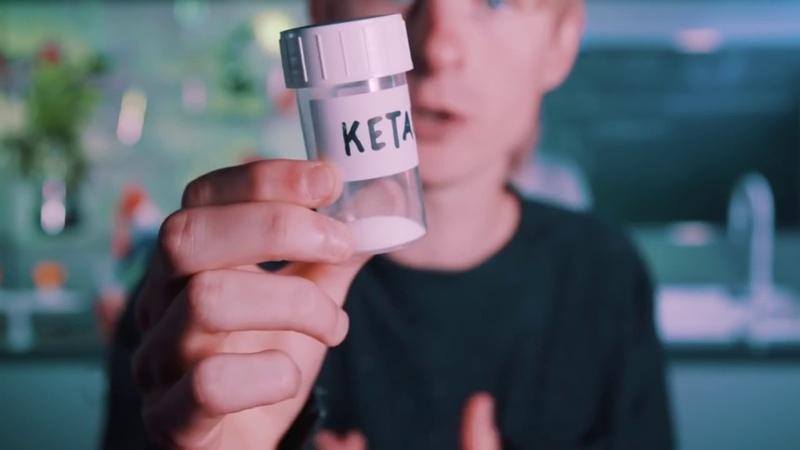 Drugslab - Нюхаем Кетамин