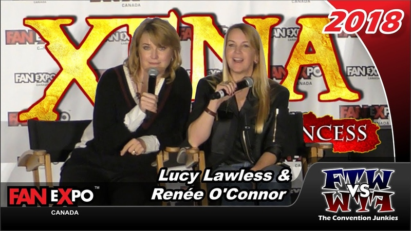 Xena's Lucy Lawless Renee O'Conner Fan Expo Canada 2018 Full Panel