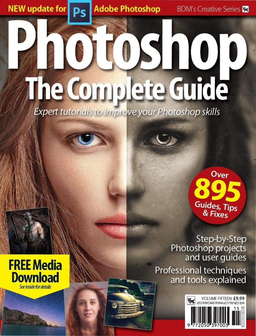 The Complete Photoshop Manual – August 2019