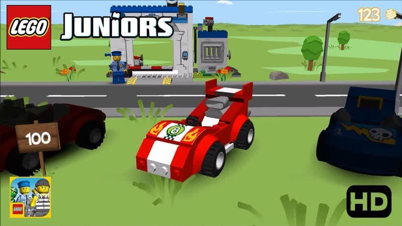 Lego Junior Quest (Mobil Polisi,Buronan,Bulldozer,Ninja) Android Gameplay - (aneka.scriptscraft.com) 720p