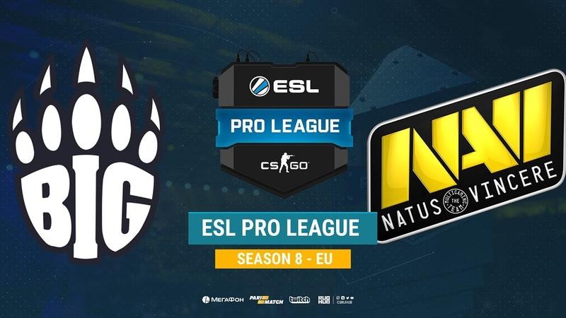 BIG vs Na`Vi - ESL Pro League S8 EU - bo1 - de_cache [CrystalMay Smile]