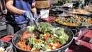 Indian Street Food in London. Huge Cooking Seen in Notting Hill