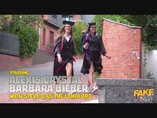 FakeHostel - Alexis Crystal, Barbara Bieber (Geeky Graduates) New Porn 2018