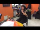 Анастасия Пелевина о работе в мастерской Nekvadrat (съемки для телеканала НТВ)