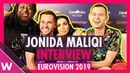 Jonida Maliqi (Albania) interview @ Eurovision 2019 first rehearsal