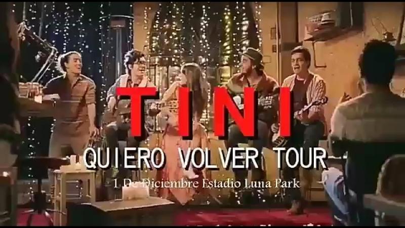 TINI Quiero Volver TOUR