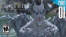 【SKYRIM 200 MODS】Dark Elf Gameplay Walkthrough Part 1 [PC - HD]