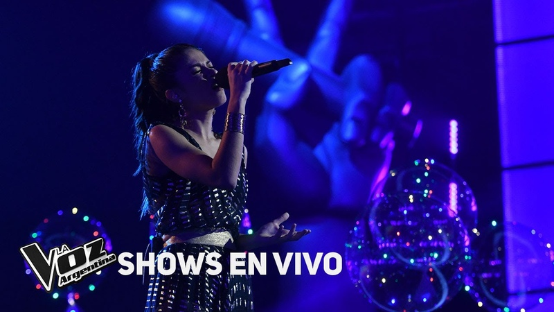 Shows en vivo TeamTini Juliana canta I say a little pray for you - La Voz Argentina 2018