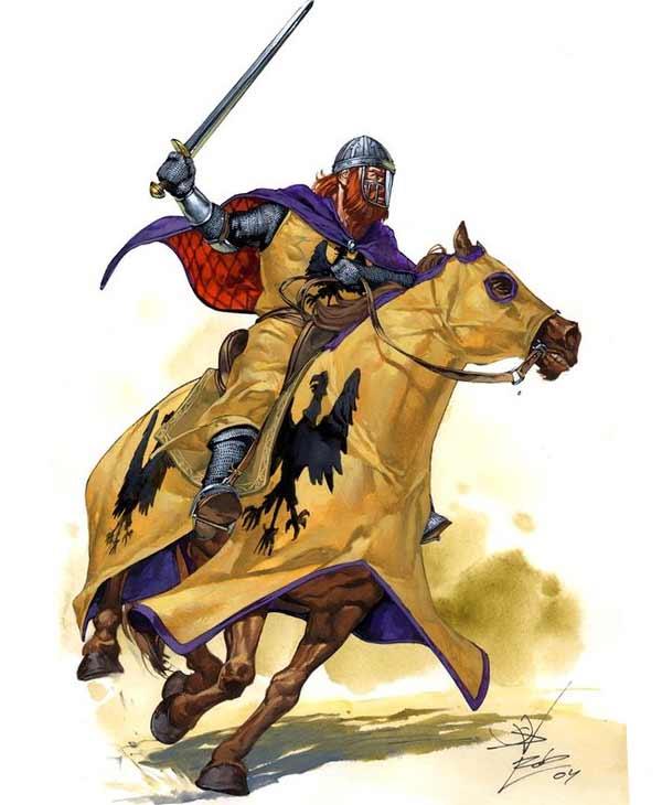 Немецкий рыцарь