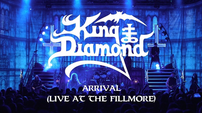 King Diamond Arrival (Live at The Fillmore) (CLIP)