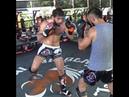 Marat Grigorian sparring with pro team @ Tiger Muay Thai