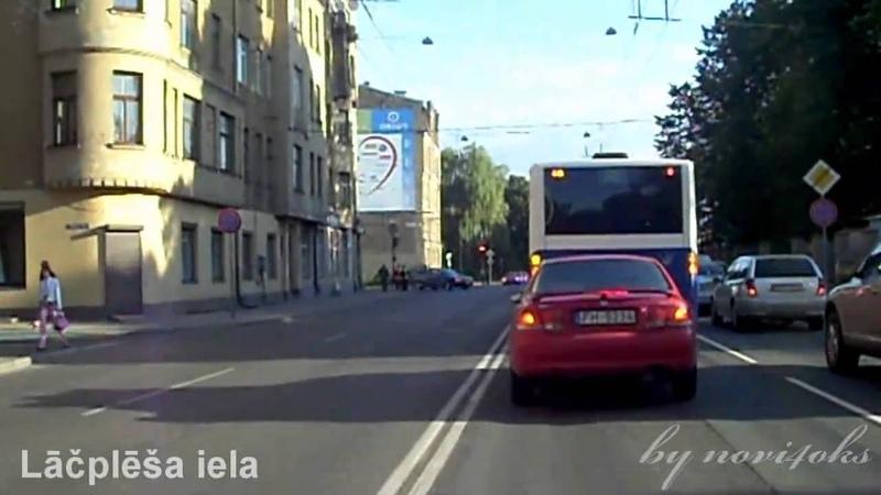 Pilna versija trolejbusa maršruta Nr 20 Televīzijas centrs Latvijas Universitāte
