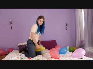KarinB - Girl Popping Balloons_ASMR (2)