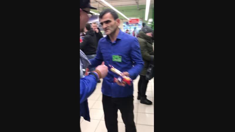 """Пятерочные чурки прессуют Белорусский автостоп"""""""