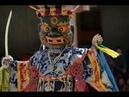 Буддийская мистерия Yuru Kabgyat в Ламаюру Гонпа 6 июня 2018г Танец Цам Ладакх