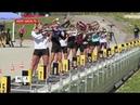 Сборы на высоте 1400 метров женская команда по биатлону готовится к сезону в Сочи