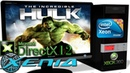 XENIA DX12 Xbox 360 The Incredible Hulk 30FPS Gameplay DirectX12 ROV 3