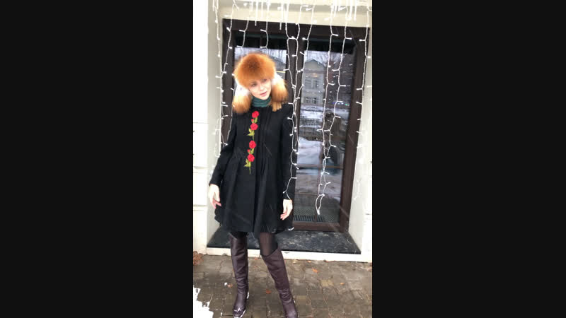 Пальто в стиле Аля рус 😍
