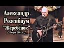 Александр Розенбаум Жеребёнок Калуга 2001 СУПЕРПРЕМЬЕРА