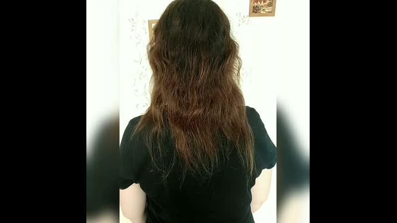 132 капсулки 45 50см без окрашивания и коррекции кончиков волос клиента
